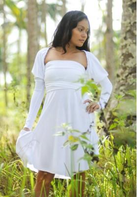 Kawayan Nikia Strapless Dress