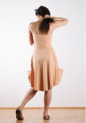 Kawayan Nikia Strapless Dress